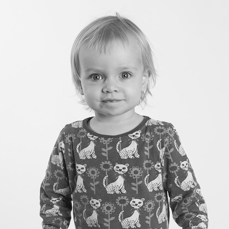 Portrætfotografering af børn i Aalborg