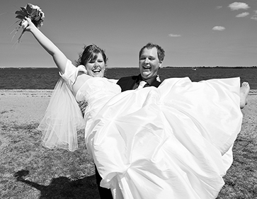 Bryllupsfotografering Skive
